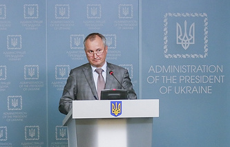 Chief of the Ukrainian security service SBU, Vasily Gritsak