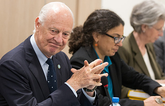 UN Secretary-General's special envoy for Syria Staffan de Mistura