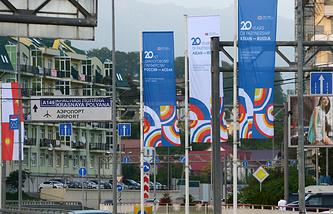 A view of Sochi ahead of the Summit