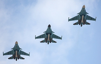 Su-34 fighter-bombers