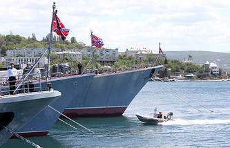 Russia's Navy base in Sevastopol