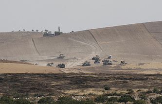 The Syrian-Turkish border
