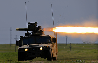 US TOW anti-tank missile