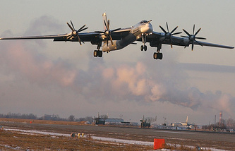 Tu-95MS strategic bomber