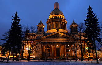 St Petersburg's iconic Cathedral of St Isaac