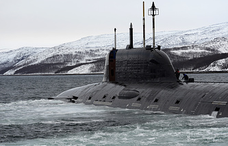 Yasen-class nuclear-powered submarine