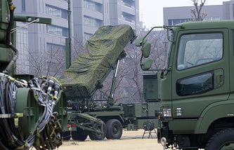 Patriot PAC-3 missile unit in Tokyo