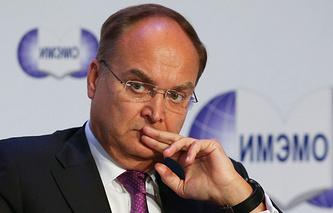 Russian Deputy Foreign Minister Anatoly Antonov
