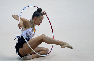 Russian gymnast Dina Averina