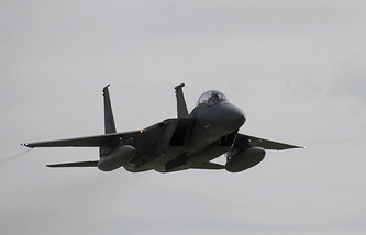 US F-15 Eagle fighter aircraft