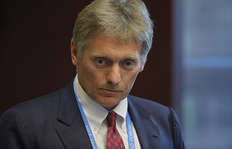 Press secretary of the Russian president Dmitry Peskov