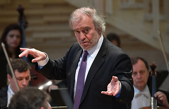 Russian conductor Valery Gergiev