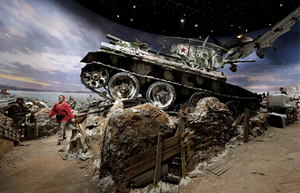 The Breakthrough panorama museum devoted to Operation Spark
