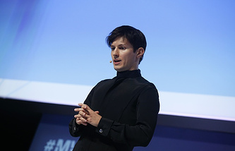 Telegram founder Pavel Durov