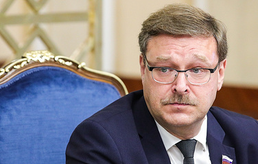 Chairman of the Russian Federation Council's Foreign Affairs Committee Konstantin Kosachev