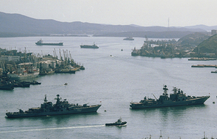 Russian pacific fleet