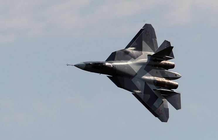 New Russian fifth generation stealth fighter T-50-2 by Sukhoi design bureau