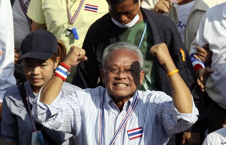 Protest leader Suthep Thaugsuban