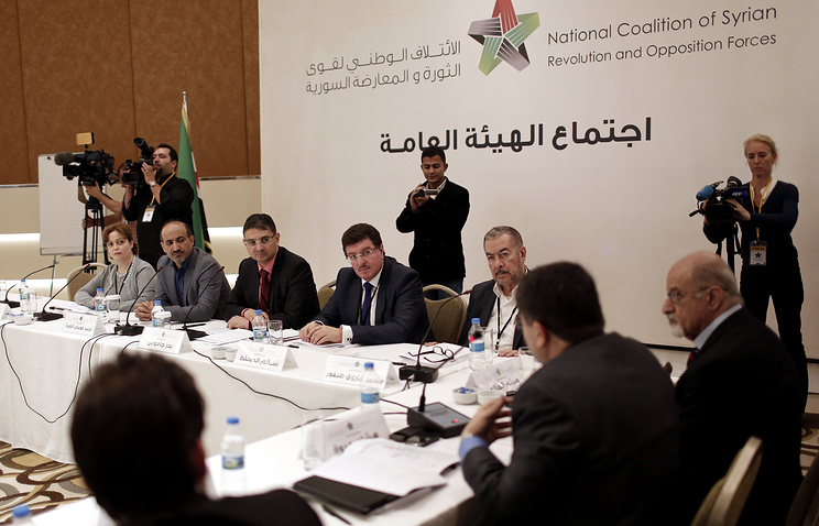 Syrian opposition meeting in Istanbul