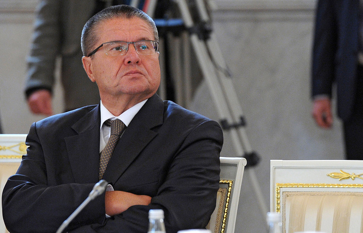 Russia's Minister of Economic Development Alexei Ulukayev