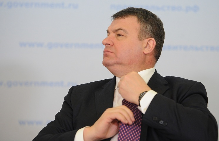 Former Russia's Defense Minister Anatoly Serdyukov