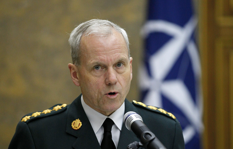 NATO's military committee chairman Knud Bartels