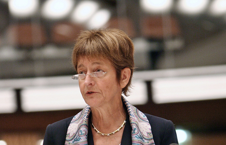 New PACE chairperson Anne Brasseur
