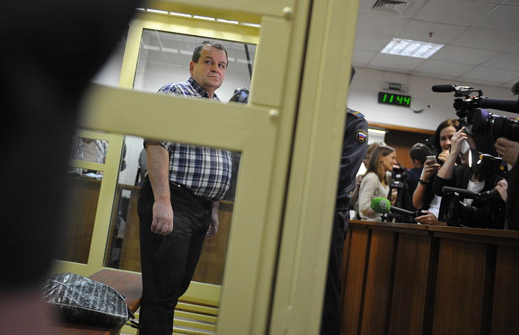 Sergei Kabalov during the court hearing