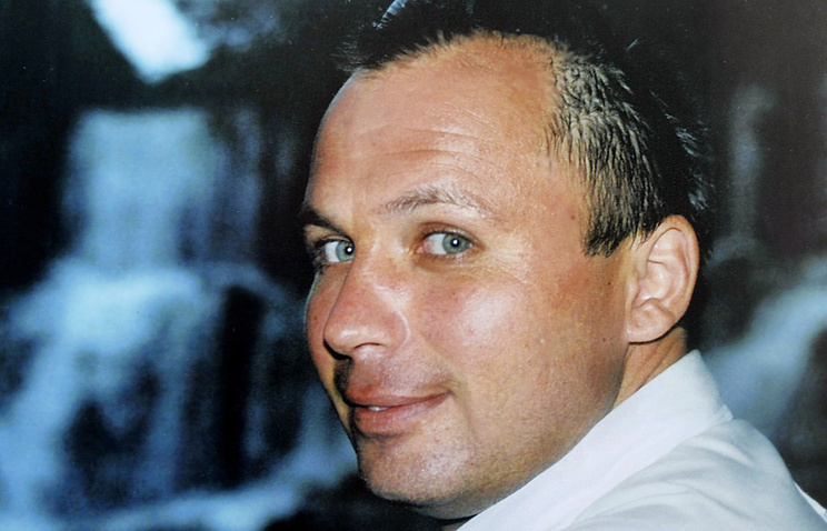A file image of Konstantin Yaroshenko, the pilot sentenced to a jail term in the US