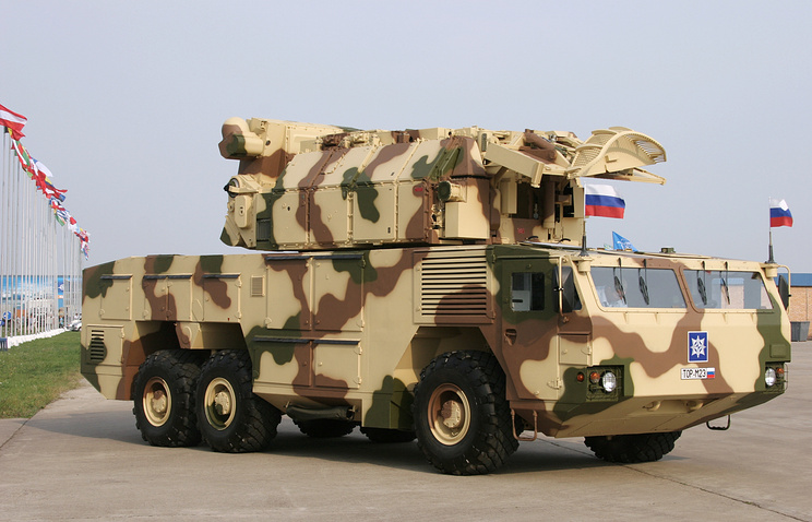 Tor-M2E air defense system (archive)