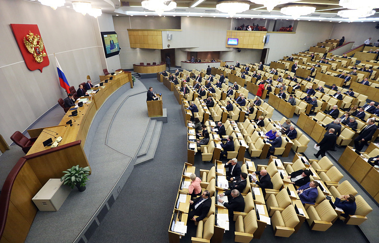 A view of the Russian State Duma session (archive)