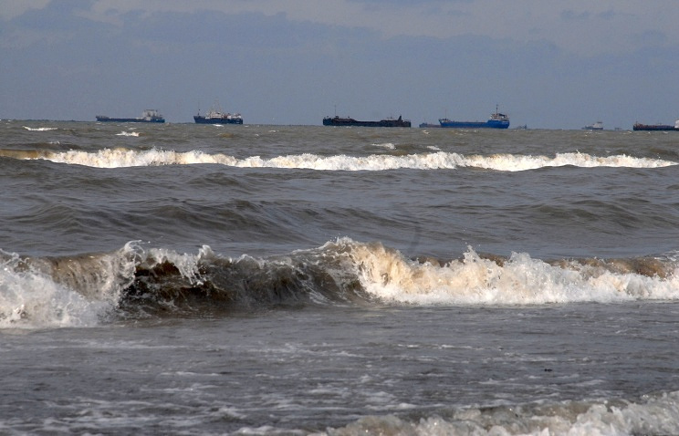 View of the Kerch Strait (archive)