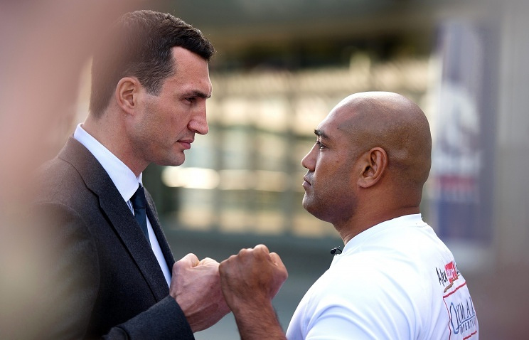 Wladimir Klitschko and Alex Leapai