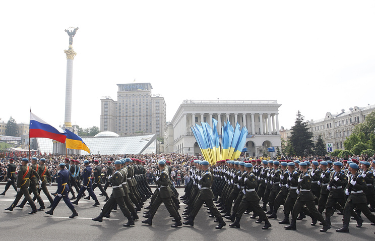 Victory Day parade in Kiev in 2010 (archive)