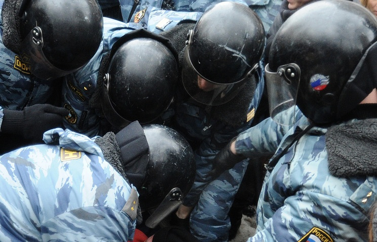 Russian police officers (archive)