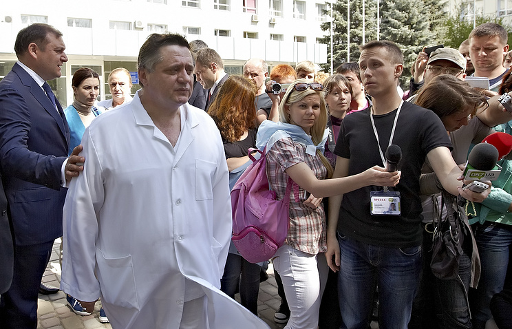Director of the Kharkiv Institute for General and Emergency Surgery Valery Boiko
