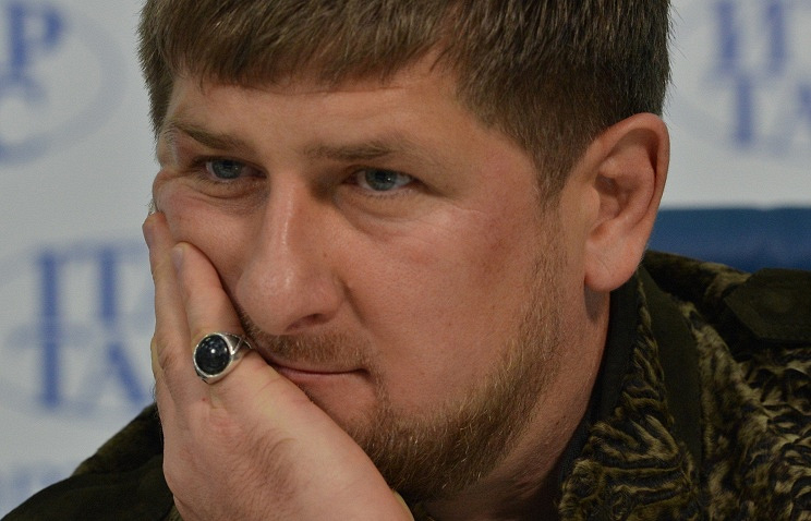 Ramzan Kadyrov, the leader of the Russian republic of Chechnya