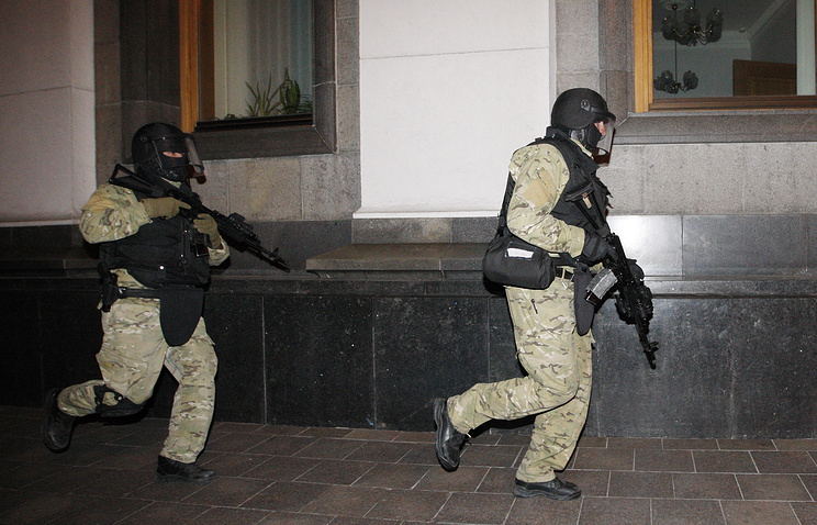 Ukrainian special forces officers in Kiev (archive)