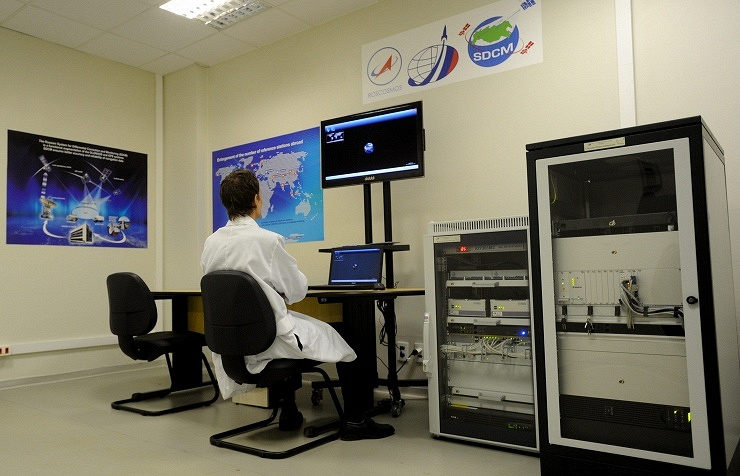 First Glonass ground station (archive)