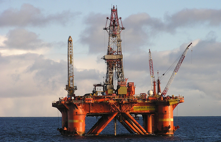 Stockman drilling platform in the Barents Sea (archive)