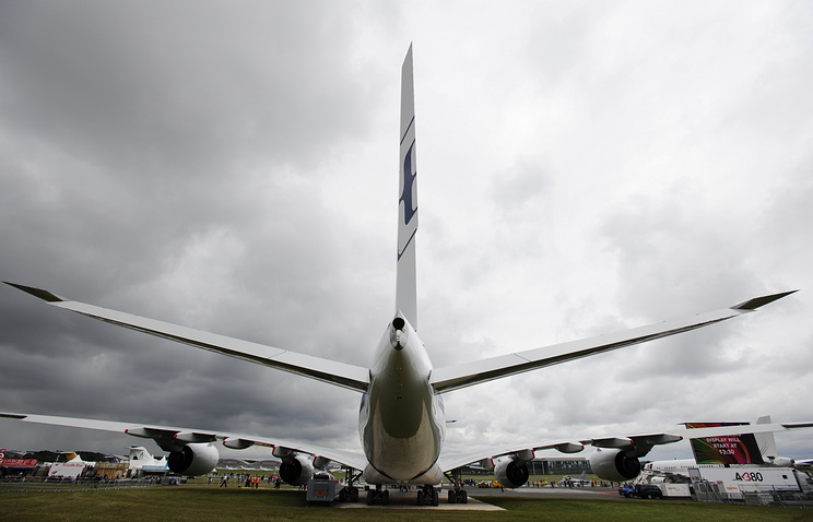Farnborough Airshow in 2012 (archive)