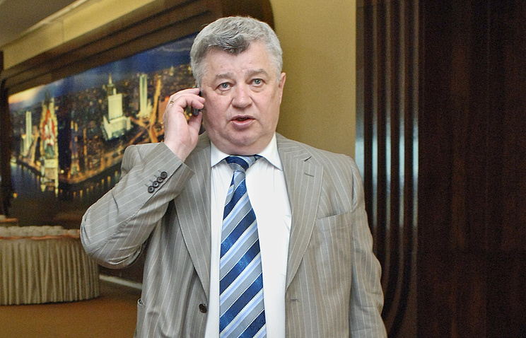 Head of the Russian Union of Journalists Vsevolod Bogdanov