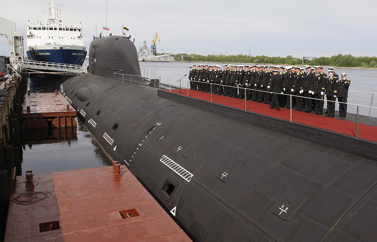 Yasen-class nuclear attack submarine Severodvinsk