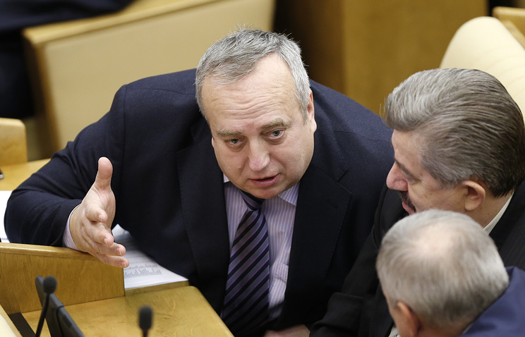 Deputy head of the defense committee at the State Duma Frants Klintsevich
