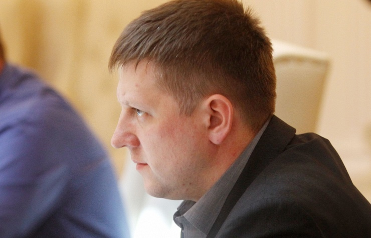 Speaker of Luhansk People's Republic's legislature Alexei Karyakin