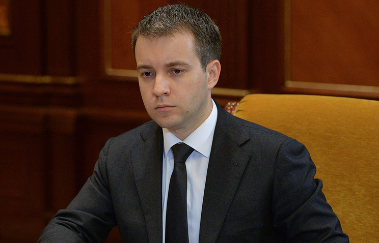 Russian Communications Minister Nikolay Nikiforov