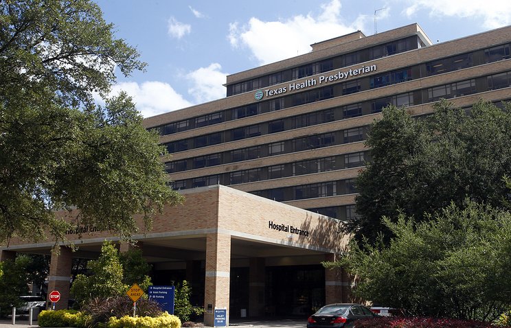 Texas Health Presbyterian Hospital in Dallas, Texas, USA