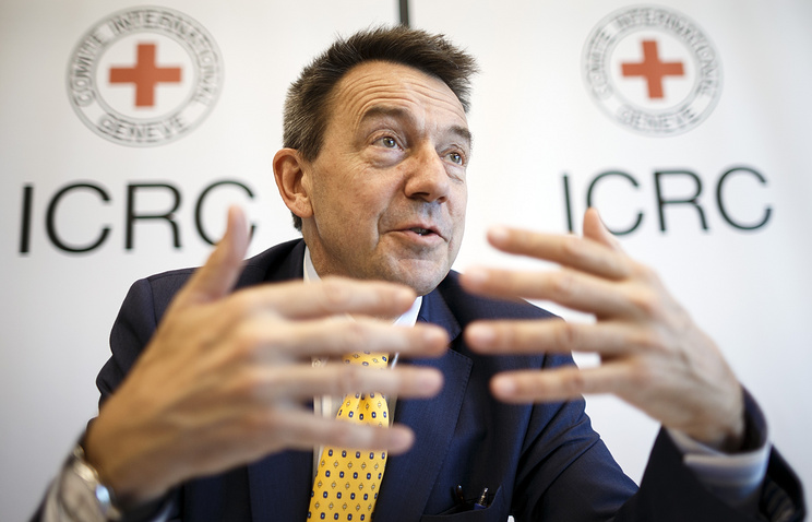 Red Cross president Peter Maurer