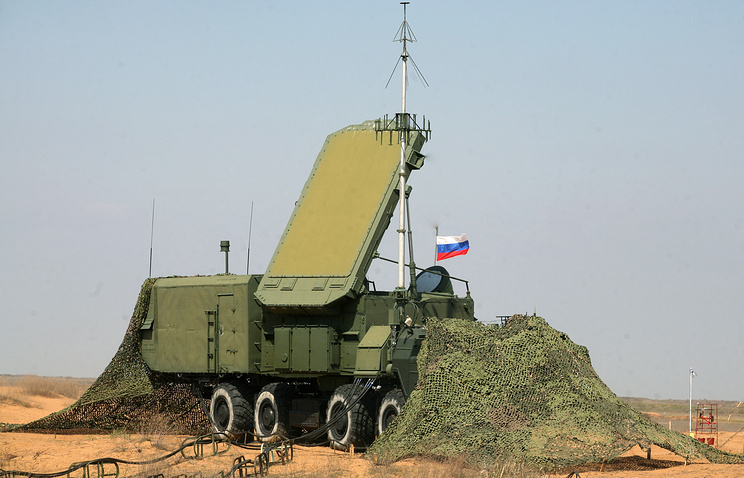 A Russian S-400 air defense system seen during miliotary drills (archive)