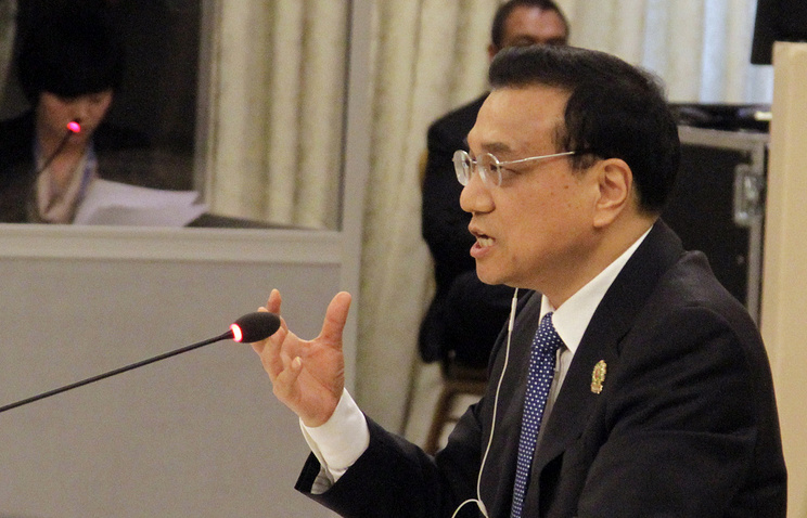 Prime Minister of the Chinese State Council Li Keqiang